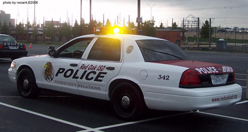 Red Oak Isd Police School Police Cars