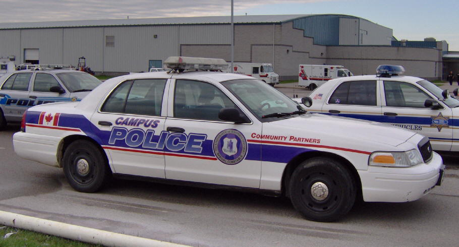 University Of Western On Police Cars